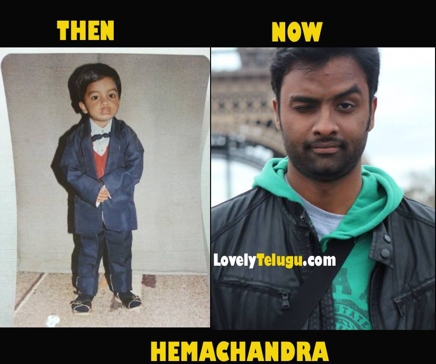 Telugu Singers Childhood Photos
