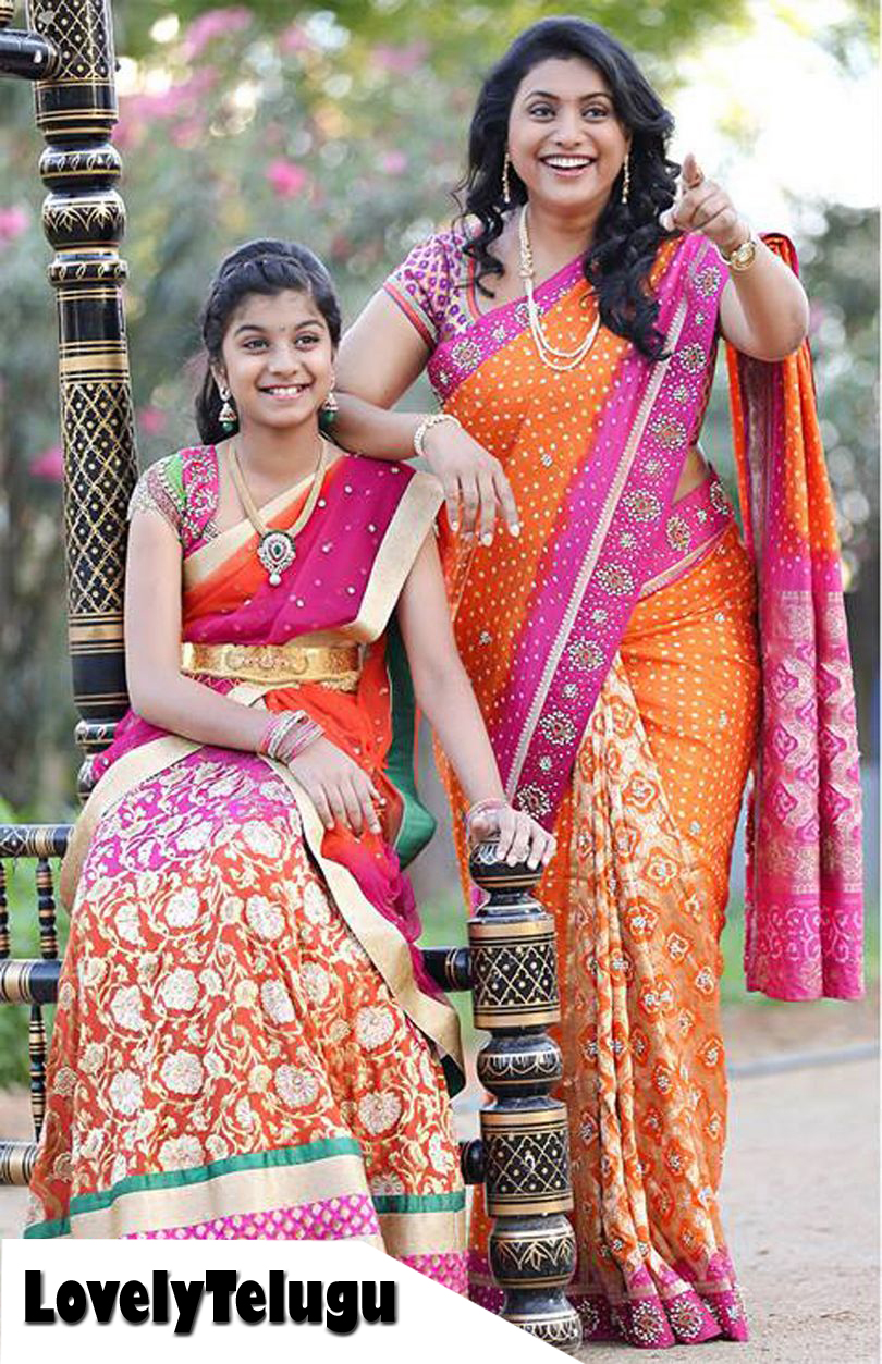 Actresses With Their Kids Lovely Telugu