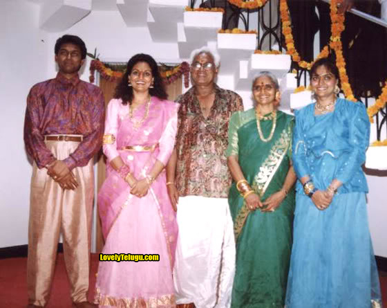 madhavi actress family photos