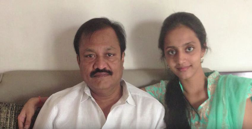 Lakshmi Pranathi Father photo