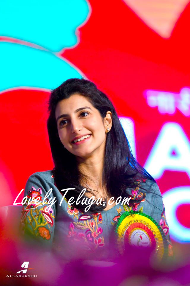 Nara brahmani at National women's parliament
