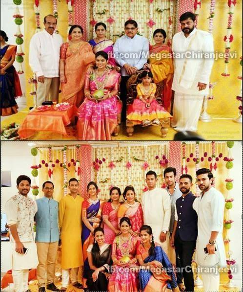 Sreeja 2nd marriage photos