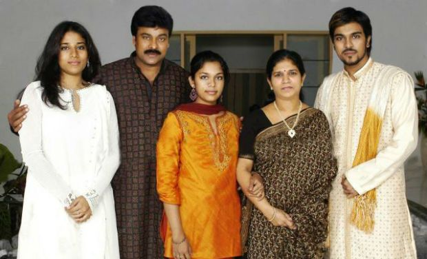 Ram Charan With His Family Lovely Telugu
