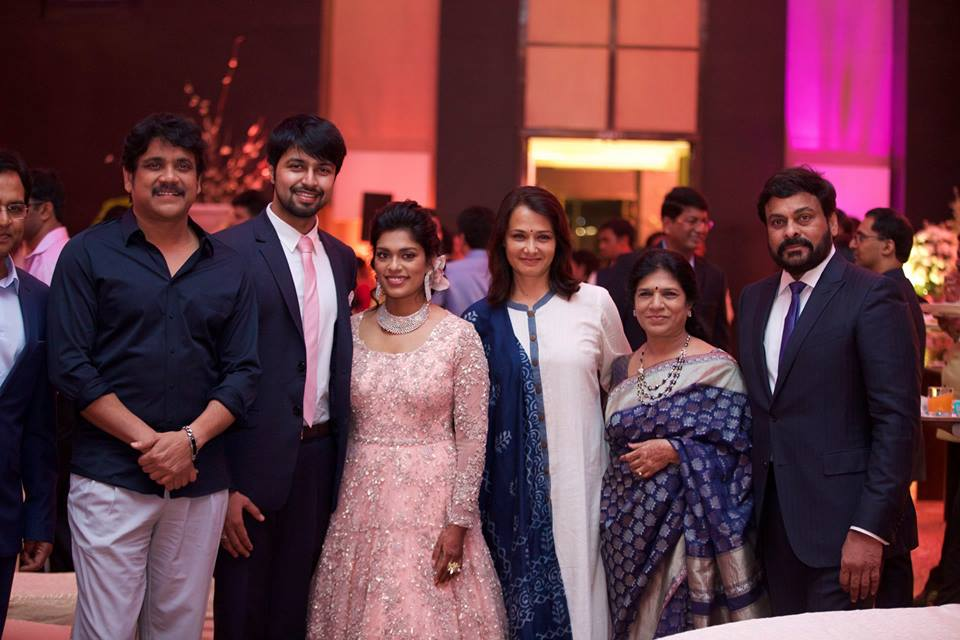 Sreeja Kalyan Wedding Reception Photos