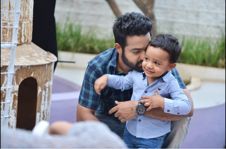 Jr NTR son Abhay Ram Janta Garage