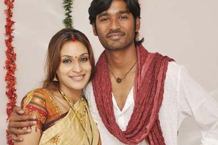 dhanush and aishwarya age difference dating