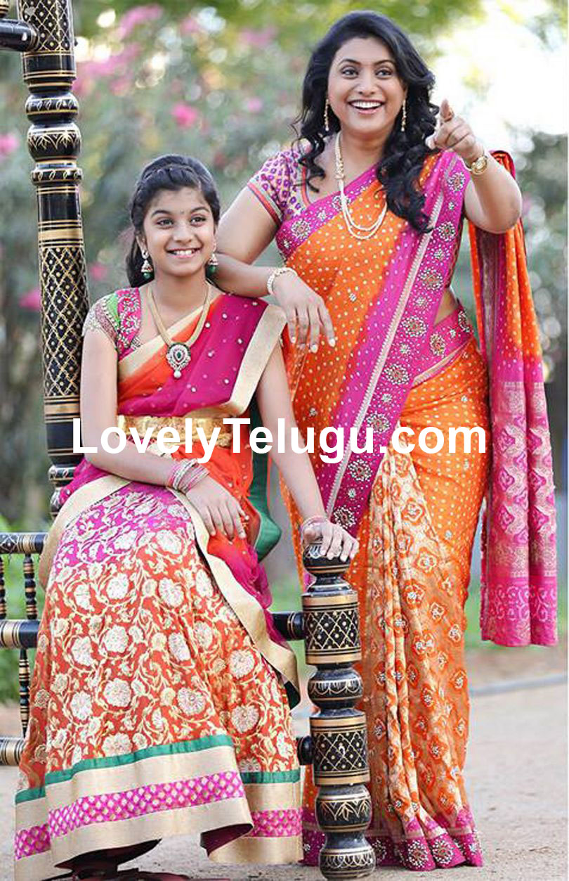 Actress Roja Family Photos Personal Pics Lovely Telugu