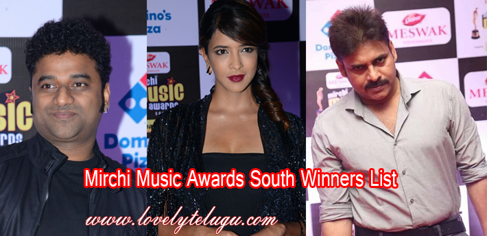 Mirchi Music Awards South 2015-2016 Winners List, Photos