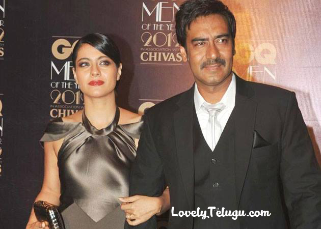 Ajay Devagan and Kajol Family pics