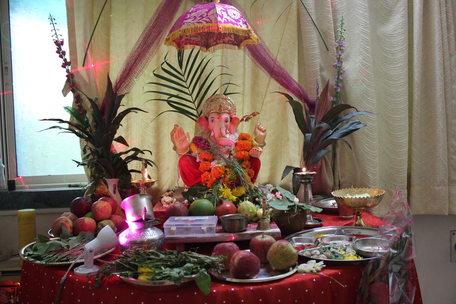 Home Decorating Ideas For Ganpati Ganesh Lovely Telugu 12693