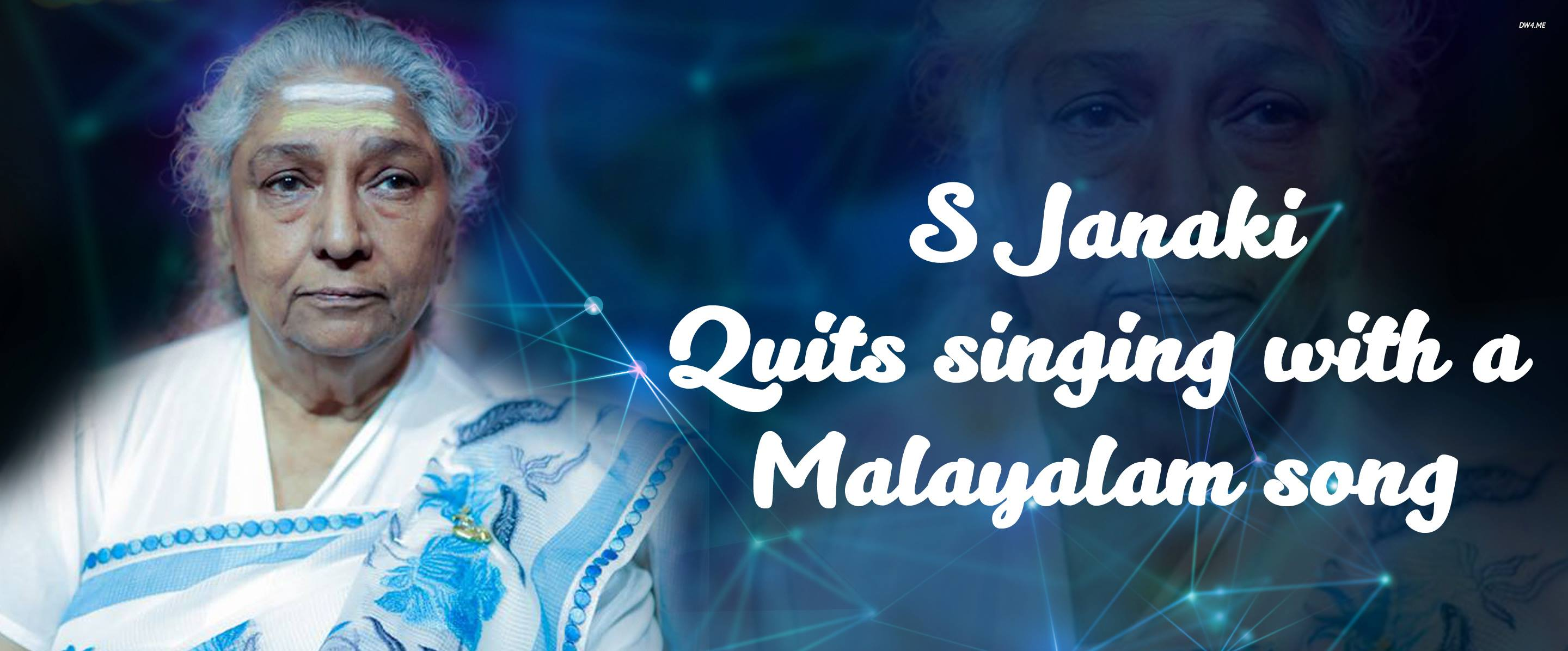 S Janaki quits singing with a Malayalam song