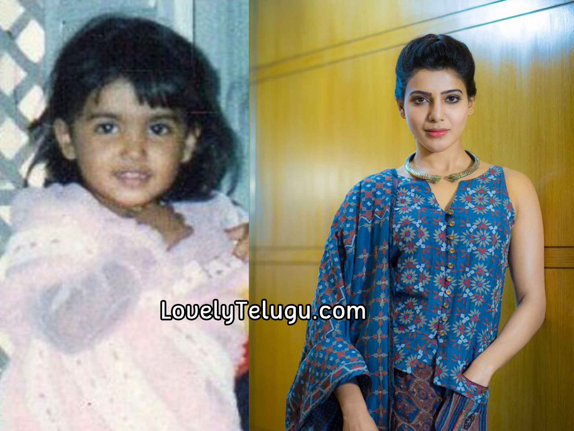 Samantha Ruth Prabhu In Childhood