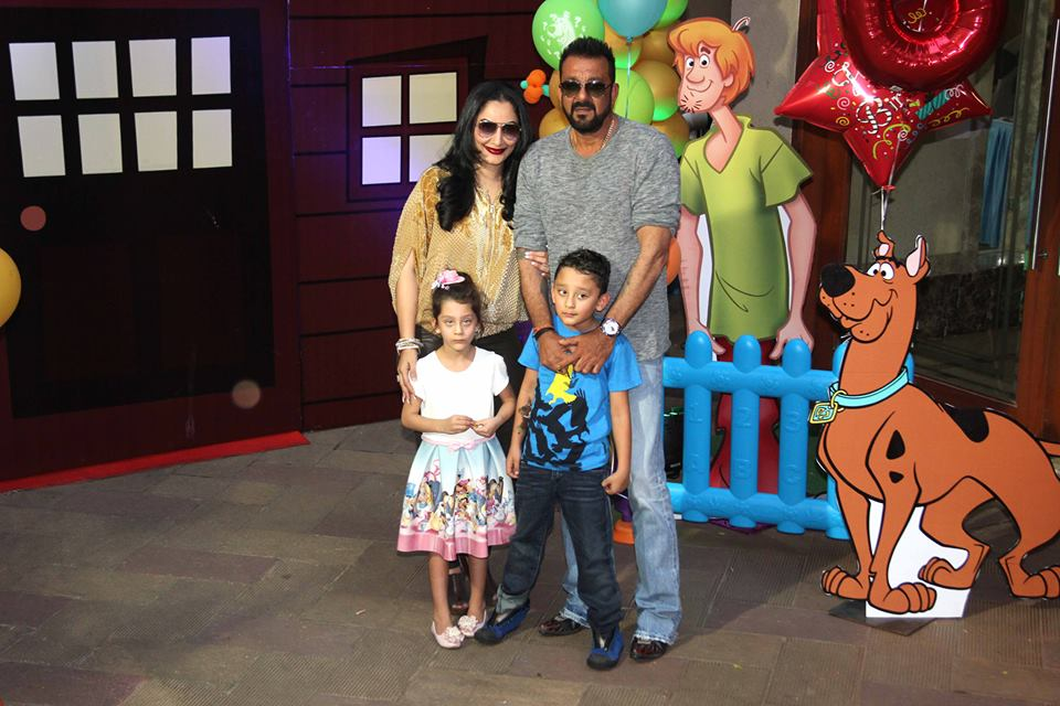Sanjay Dutt's children birthday