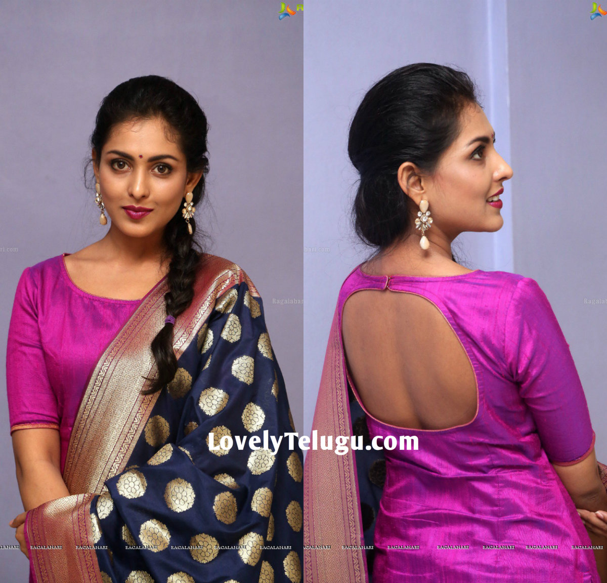 Actress Madhu Shalini In A Pink Salwar