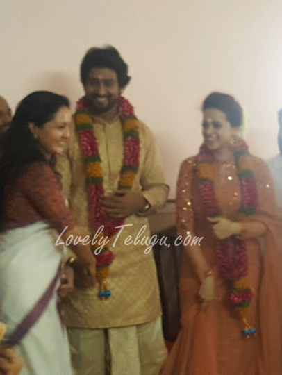 Actress Bhavana Engagement Photos