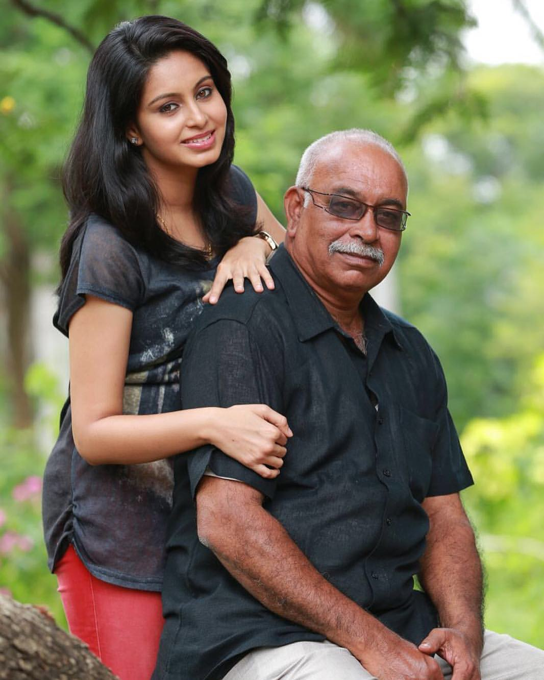 Abhinaya father