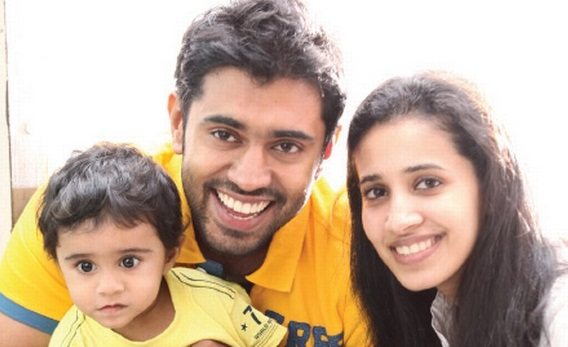 nivin pauly daughter