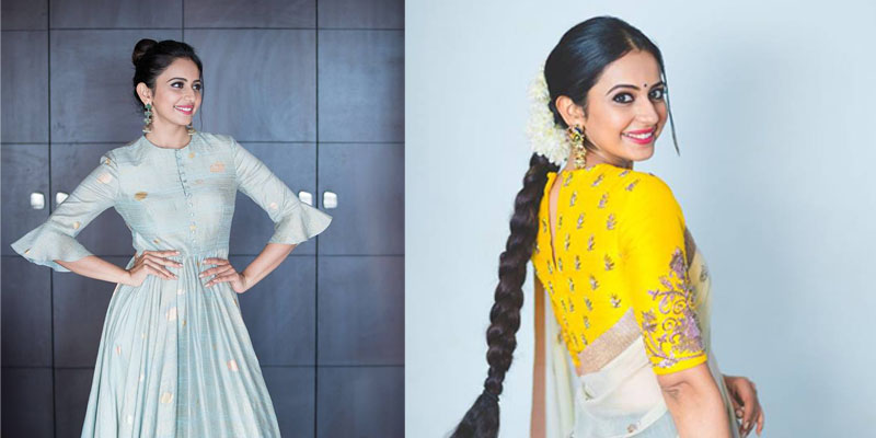 Rakul preet Singh in Traditional Look Photos