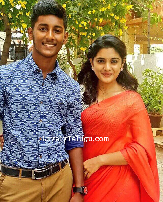 nivetha with her brother