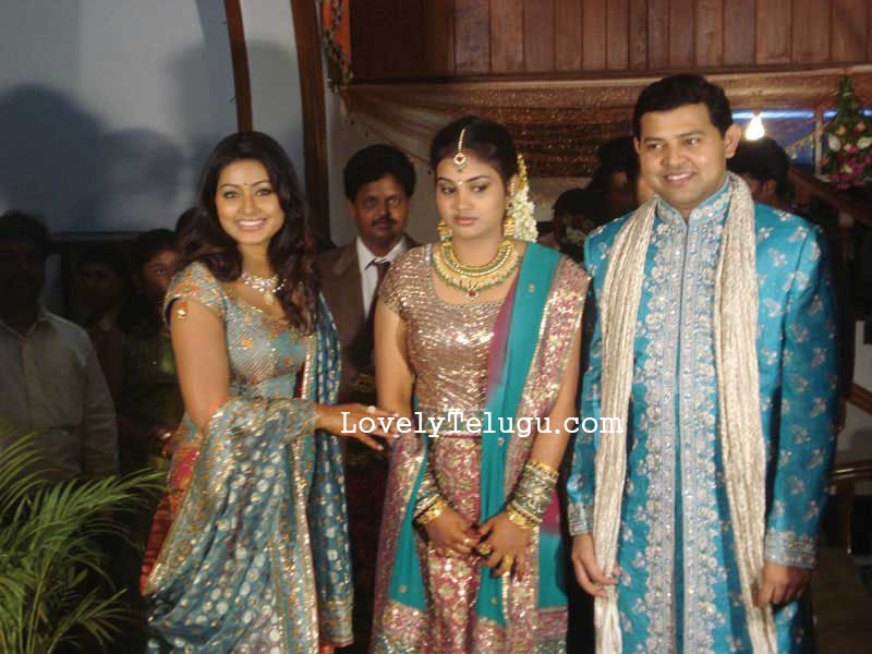 sneha with her brother