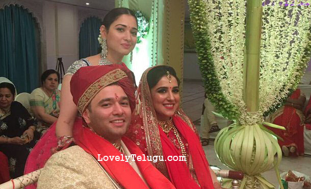 tamanna with her brother
