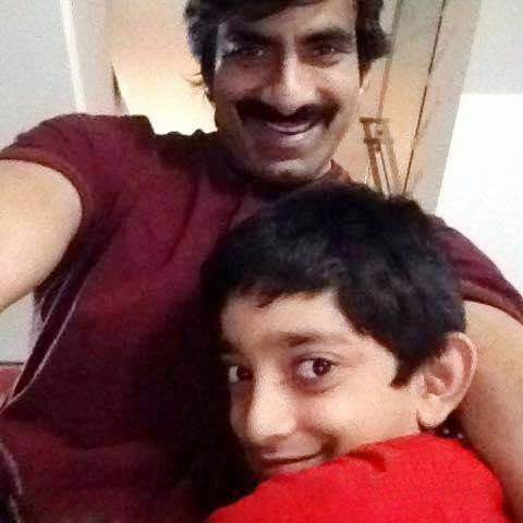 Raviteja son photos