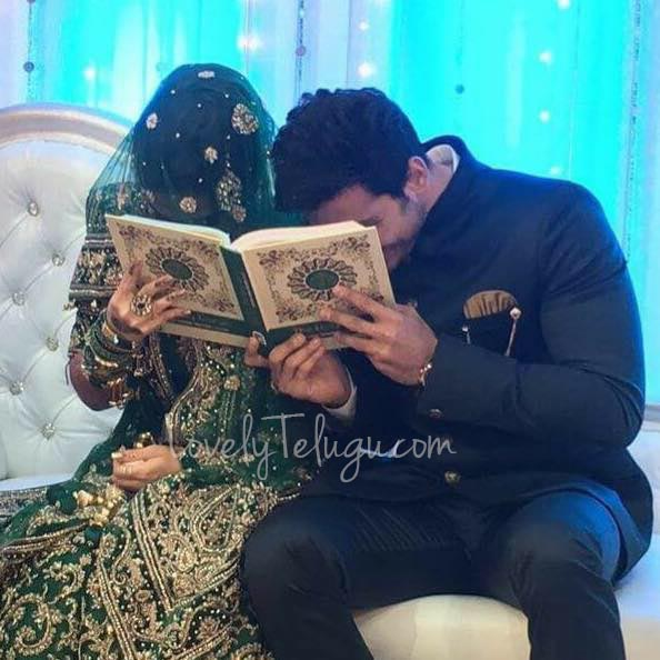 TV Actor Ali Reza Marriage Photos