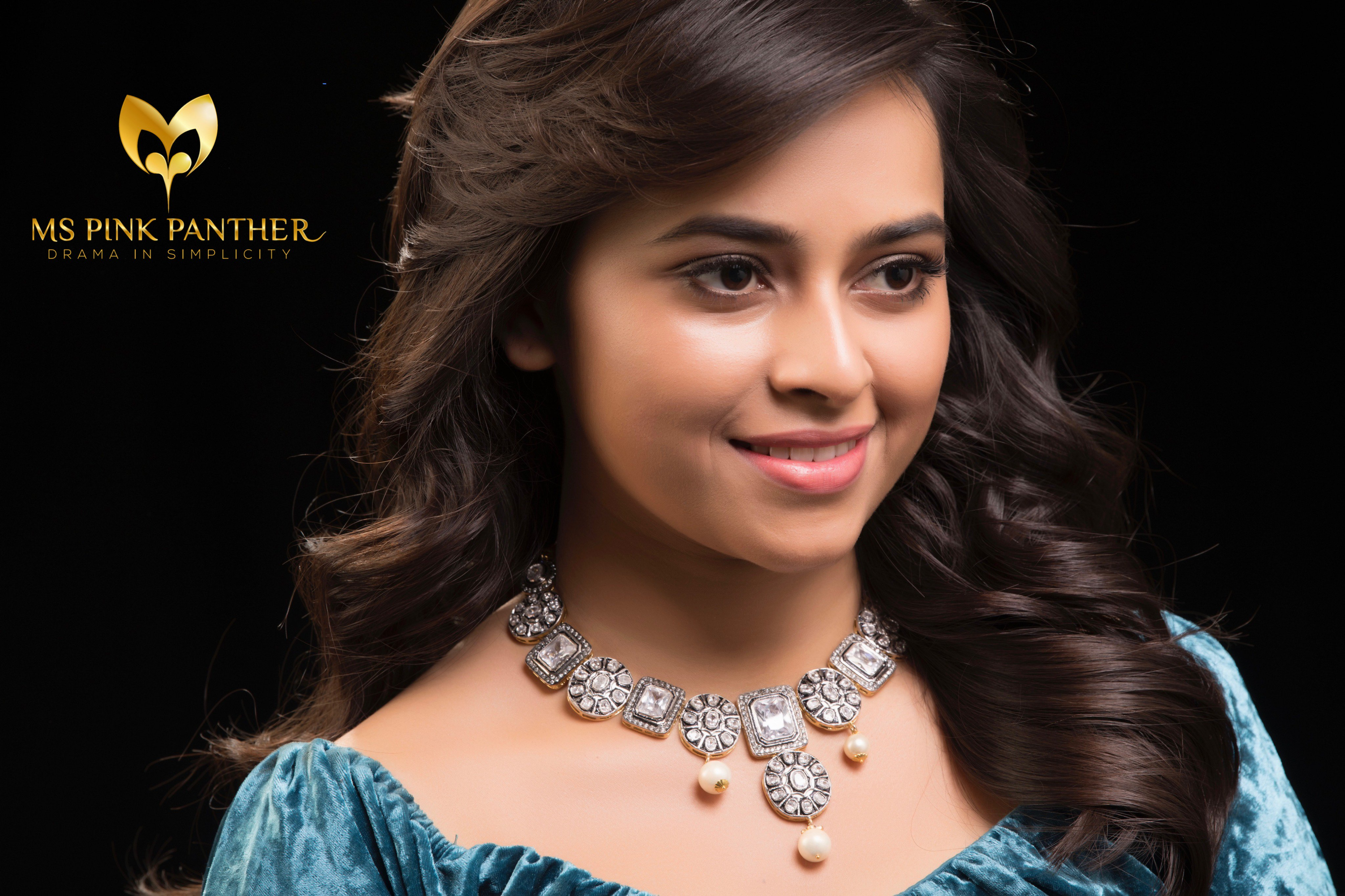 Sri Divya Latest Photoshoot Photos For Pink Panther Jewelry