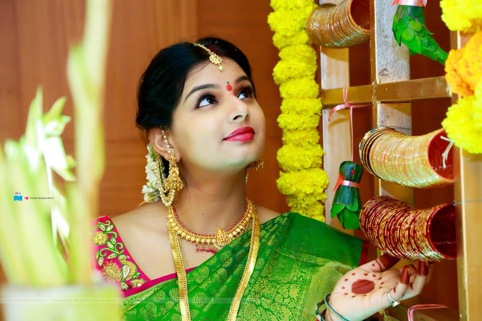 Mrudula Iyengar Seemantham Photos
