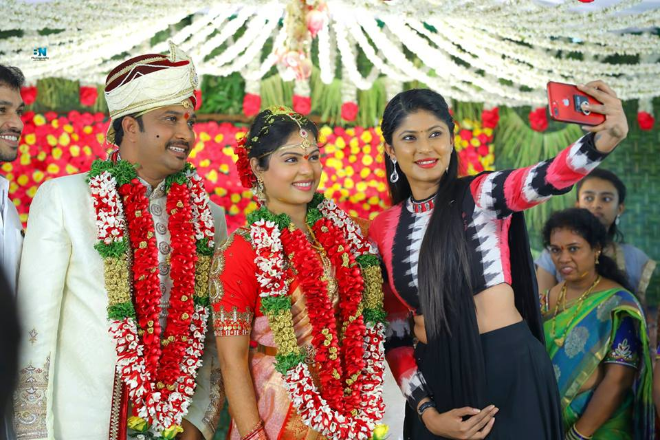 Anchor Chitralekha Wedding Photos