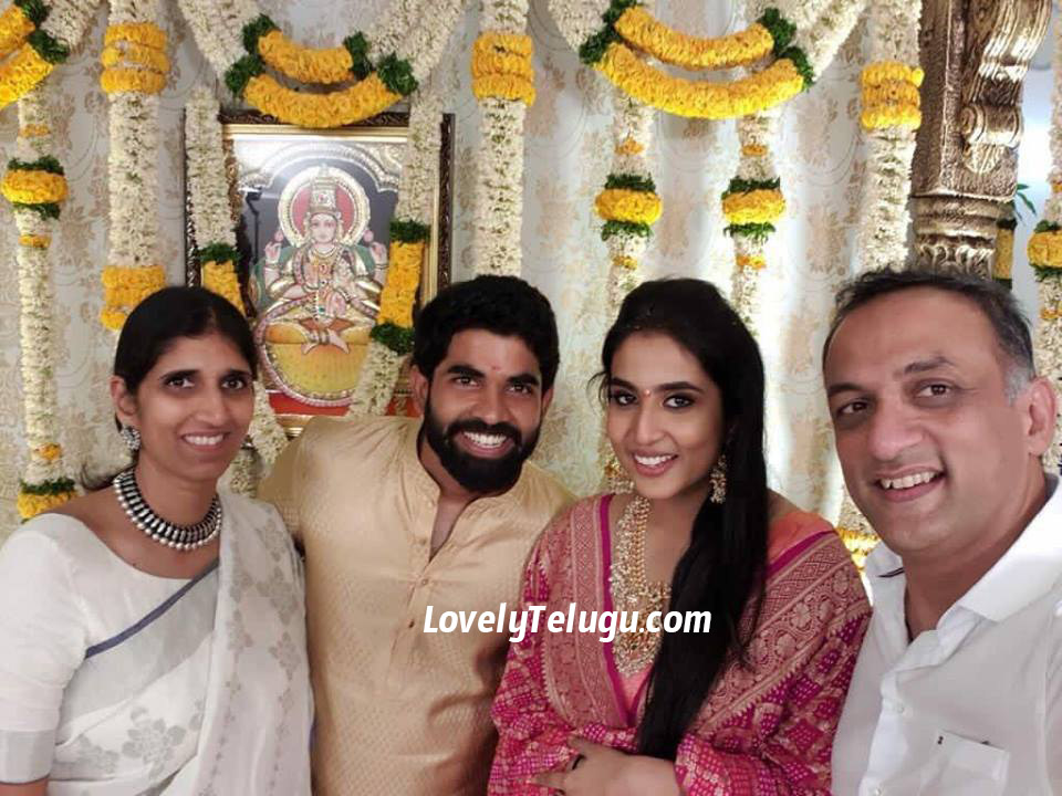 rajamouli son karthikeya engagement photos