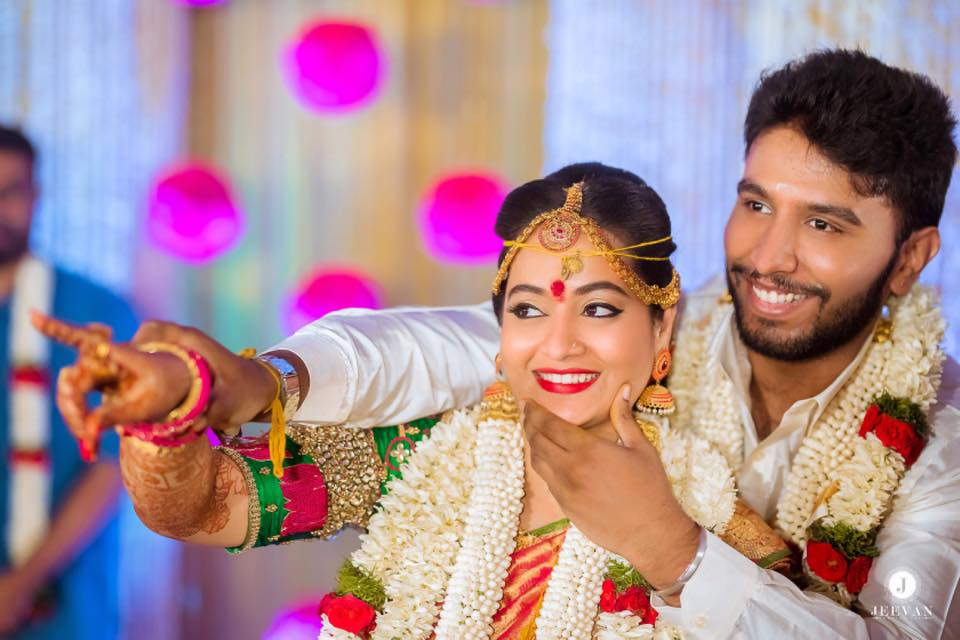 Actress Suja Varunee Wedding Photos