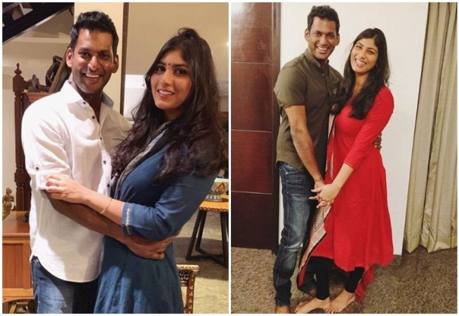Actor Vishal and Anisha Alla Engagement Date Details