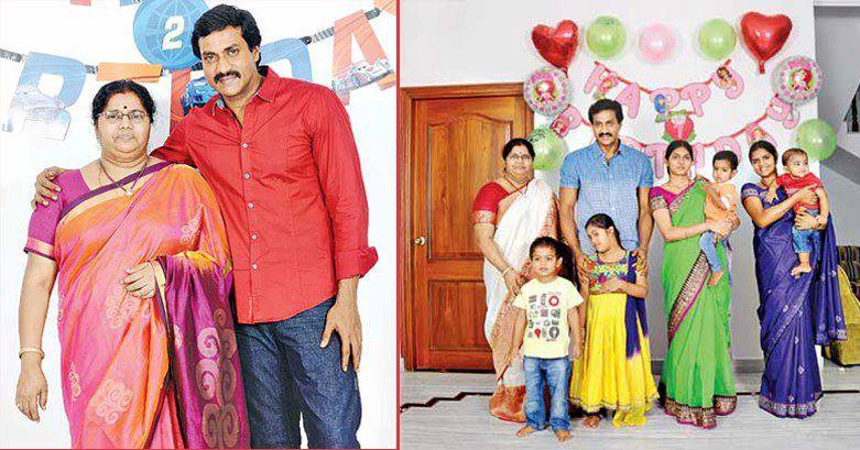 Comedian Sunil Family Unseen Photos