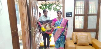 Roja Selvamani New House Photos in Vijayawada