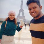 Actress Sameera Sherief Paris vacation photos