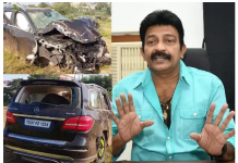 Actor Rajasekhar Met with an Accident