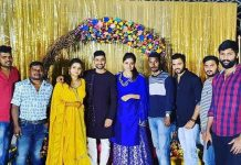 TV actress Nithya Ram Mehendi Function Photos
