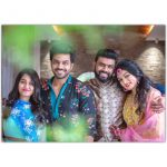 Arjun Ambati and his wife Surekha Photos