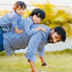 Hero Gopichand with his sons Photos