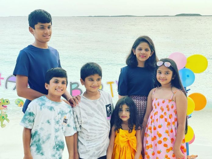 Allu Sneha Reddy Shares The Cutest Videos Of Ayan And Arha