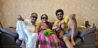 Hero Aadhi Pinisetty Father 72nd Birthday Celebrations Pictures