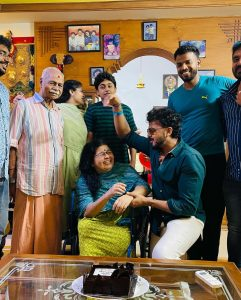 Cricketer Sreesanth With Family Images