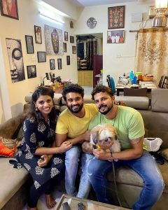 Cricketer Sreesanth With Friends Photos