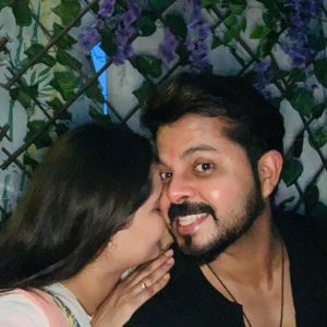 Cricketer Sreesanth With Family Photos